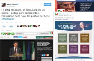 Comunicazione Pd Mattarella