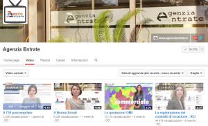 Agenzia delle Entrate Youtube