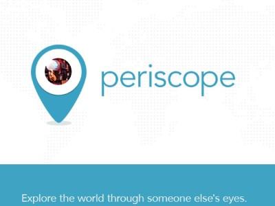 Periscope mania