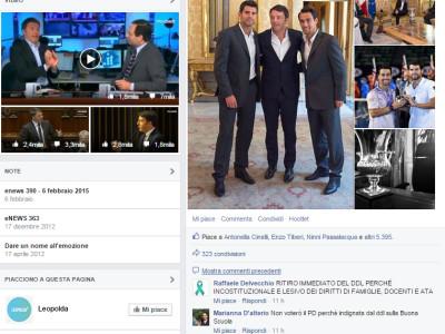 Renzi e i social. Il feeling comincia a scricchiolare