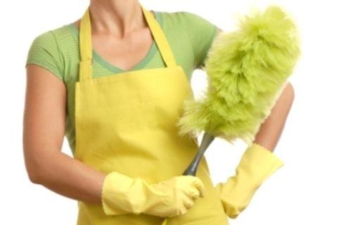 signora delle pulizie