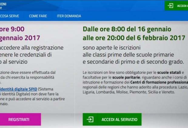 E-Mail 'Iscrizioni online a scuola, banco di prova per lo Spid' To A Friend