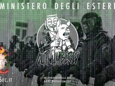 Cybersecurity: l'attacco di Anonymous alla Farnesina e il colabrodo del sistema informatico italiano