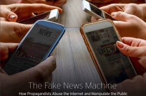 Fake news machine