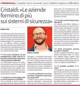 Intervista Cristaldi