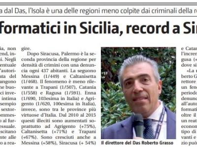 In aumento i reati informatici in Sicilia, record a Siracusa